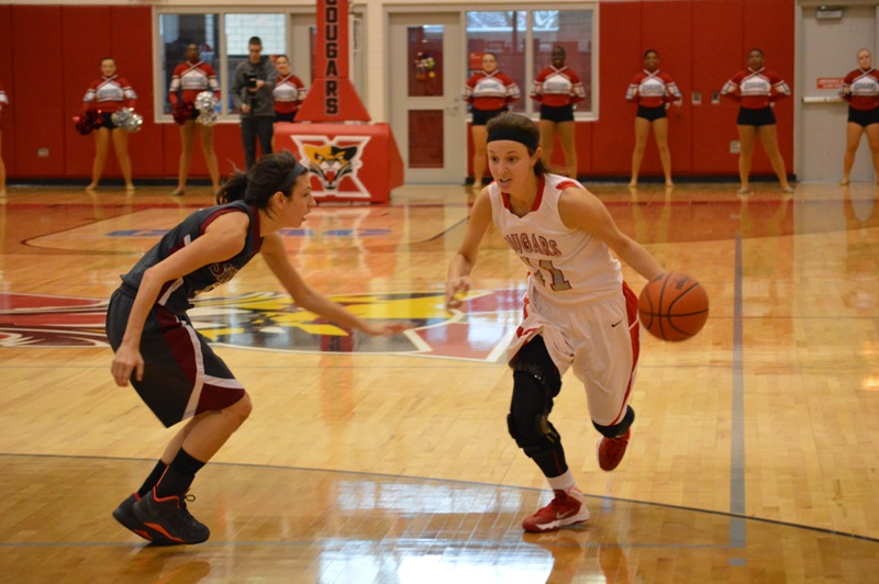 SXU Women's Basketball vs Cardinal Stritch (Wis.) 2/1/14 - Photo 17