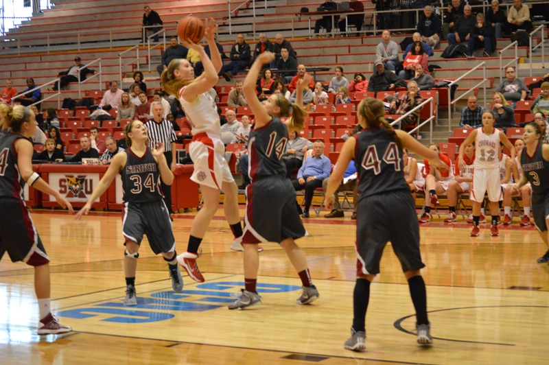 SXU Women's Basketball vs Cardinal Stritch (Wis.) 2/1/14 - Photo 30