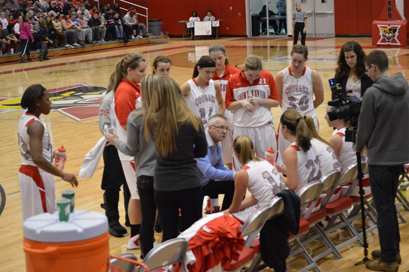 SXU Women's Basketball vs Cardinal Stritch (Wis.) 2/1/14 - Photo 32