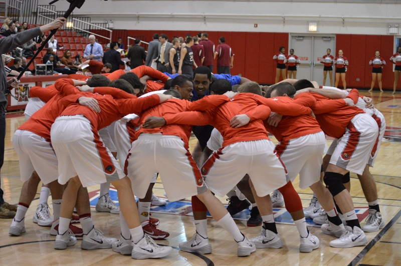 1st SXU Men's Basketball vs Cardinal Stritch (Wis.) 2/1/14 Photo