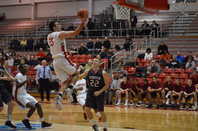 3rd SXU Men's Basketball vs Cardinal Stritch (Wis.) 2/1/14 Photo