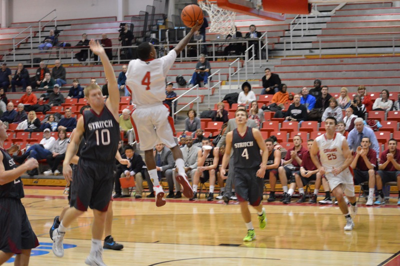 6th SXU Men's Basketball vs Cardinal Stritch (Wis.) 2/1/14 Photo