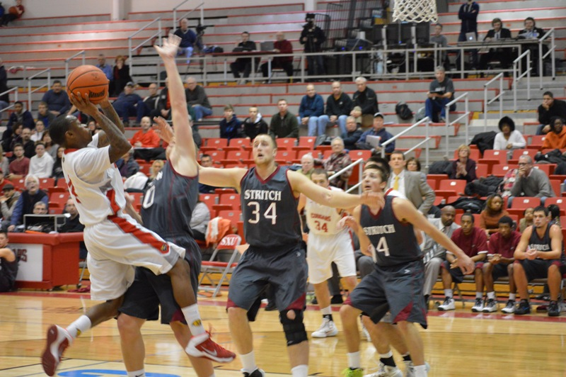 8th SXU Men's Basketball vs Cardinal Stritch (Wis.) 2/1/14 Photo