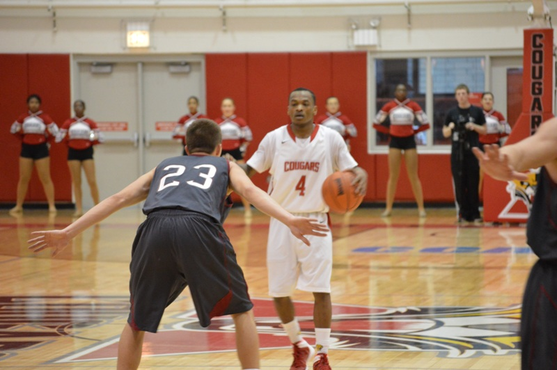 17th SXU Men's Basketball vs Cardinal Stritch (Wis.) 2/1/14 Photo