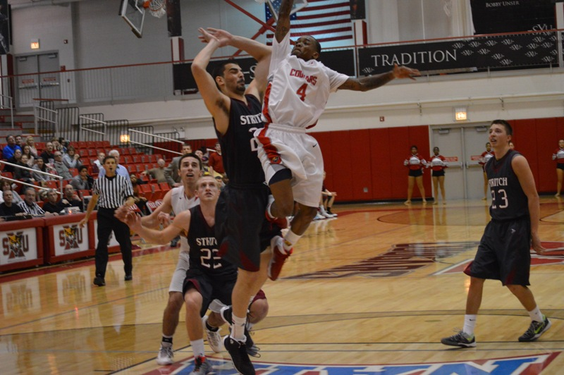 18th SXU Men's Basketball vs Cardinal Stritch (Wis.) 2/1/14 Photo