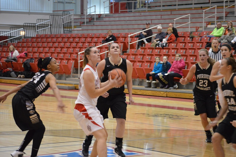 5th SXU Women's Basketball vs Purdue-Calumet (Ind.) 2/5/14 Photo