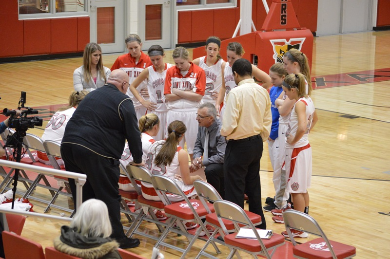 9th SXU Women's Basketball vs Purdue-Calumet (Ind.) 2/5/14 Photo