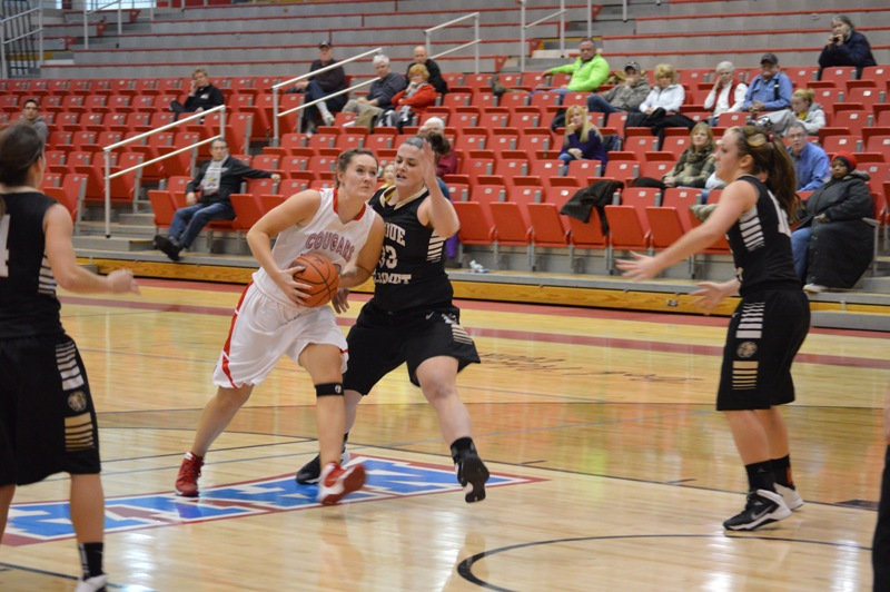 11th SXU Women's Basketball vs Purdue-Calumet (Ind.) 2/5/14 Photo