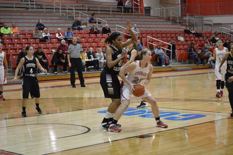 14th SXU Women's Basketball vs Purdue-Calumet (Ind.) 2/5/14 Photo