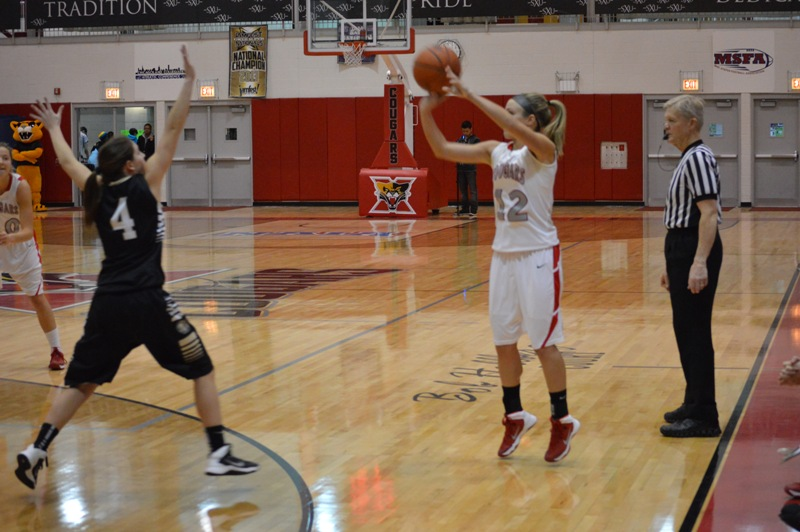 17th SXU Women's Basketball vs Purdue-Calumet (Ind.) 2/5/14 Photo