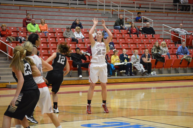 18th SXU Women's Basketball vs Purdue-Calumet (Ind.) 2/5/14 Photo