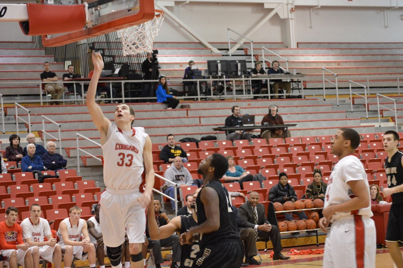 SXU Men's Basketball vs Purdue-Calumet (Ind.) 2/5/14 - Photo 23