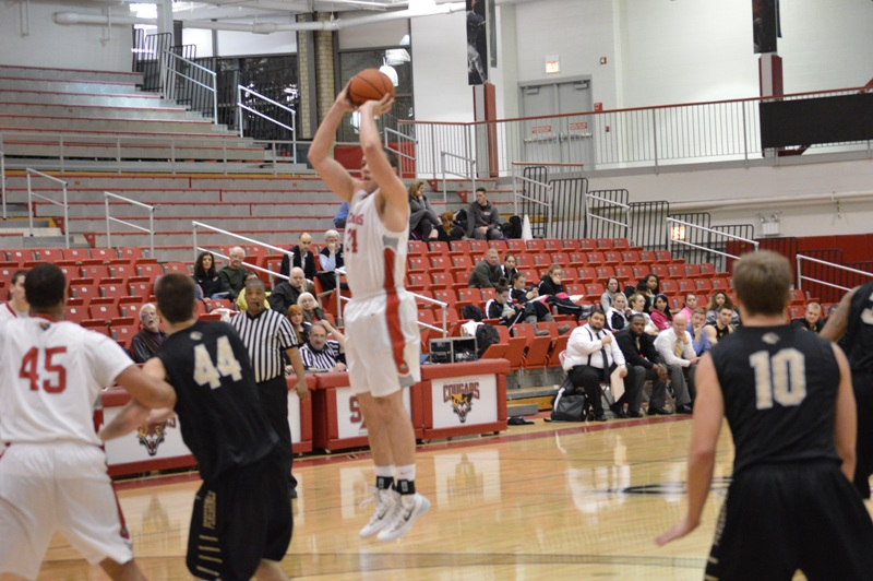 SXU Men's Basketball vs Purdue-Calumet (Ind.) 2/5/14 - Photo 25