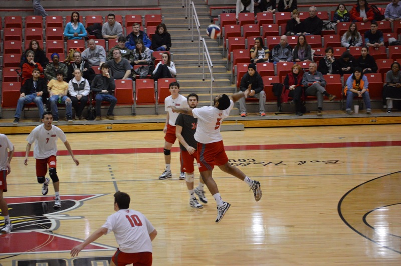 4th SXU Men's Volleyball vs Cardinal Stritch (Wis.) 2/11/14 Photo