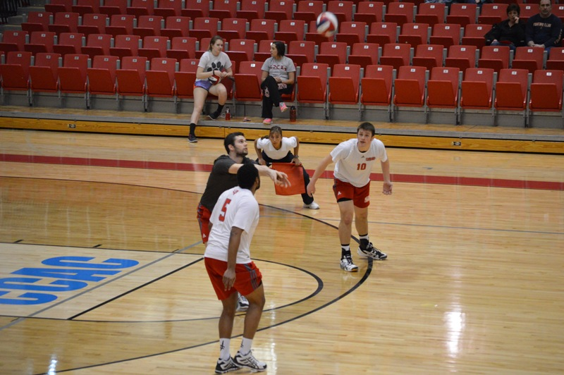 9th SXU Men's Volleyball vs Cardinal Stritch (Wis.) 2/11/14 Photo