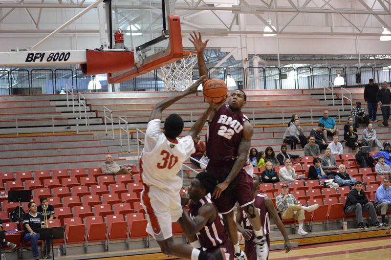 5th SXU Men's Basketball vs Robert Morris (Ill.) 2/12/14 Photo