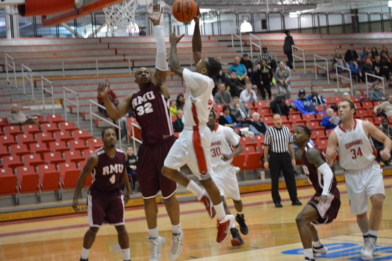 6th SXU Men's Basketball vs Robert Morris (Ill.) 2/12/14 Photo