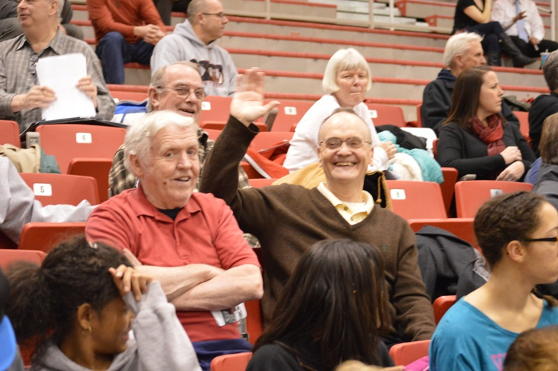 10th SXU Men's Basketball vs Robert Morris (Ill.) 2/12/14 Photo