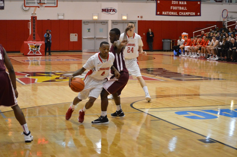 13th SXU Men's Basketball vs Robert Morris (Ill.) 2/12/14 Photo