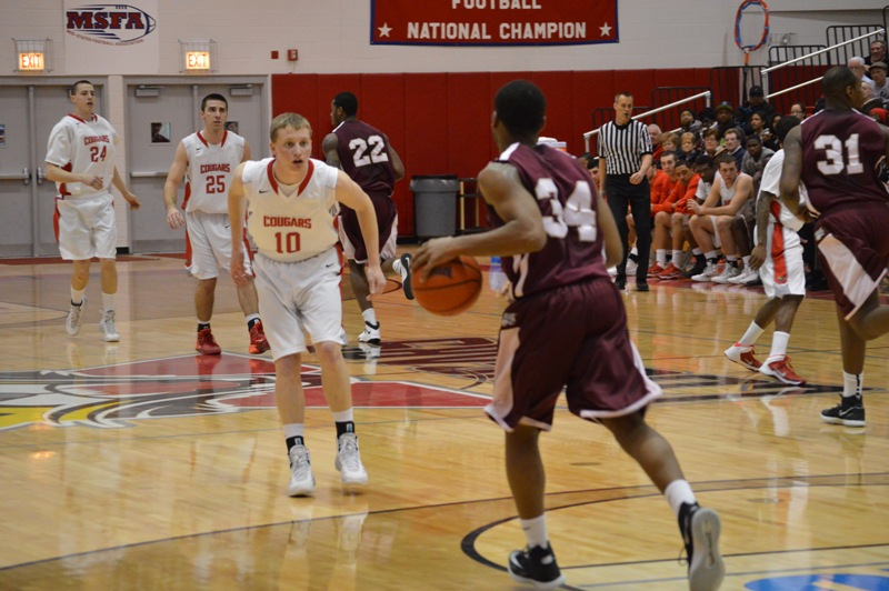 14th SXU Men's Basketball vs Robert Morris (Ill.) 2/12/14 Photo