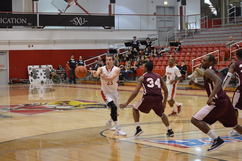 18th SXU Men's Basketball vs Robert Morris (Ill.) 2/12/14 Photo