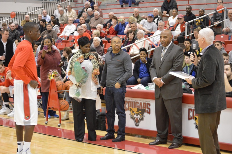 2nd Senior Night vs Roosevelt (Ill.) 2/19/14 Photo