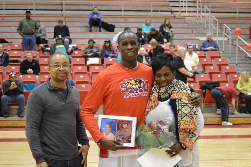 3rd Senior Night vs Roosevelt (Ill.) 2/19/14 Photo