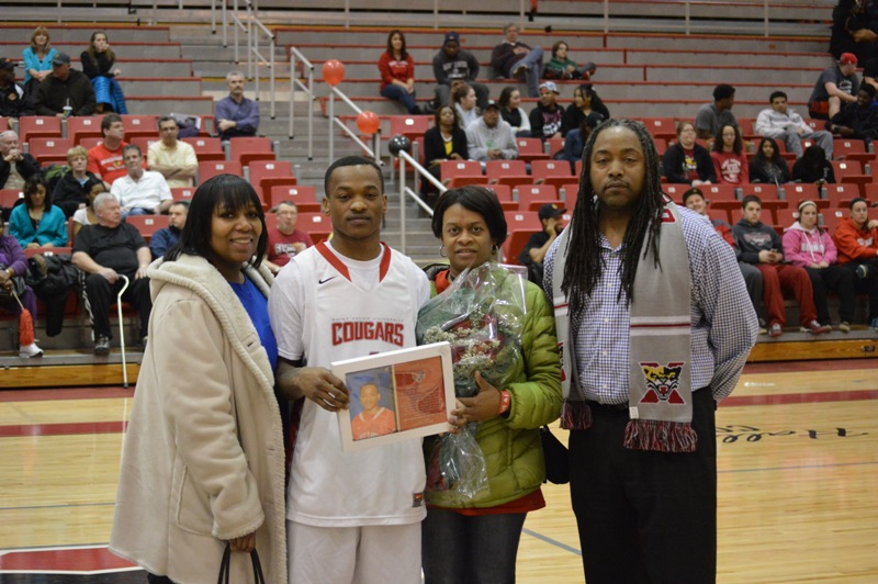 6th Senior Night vs Roosevelt (Ill.) 2/19/14 Photo