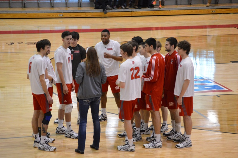1st SXU Men's Volleyball vs Lourdes (Ohio) 3/8/14 Photo