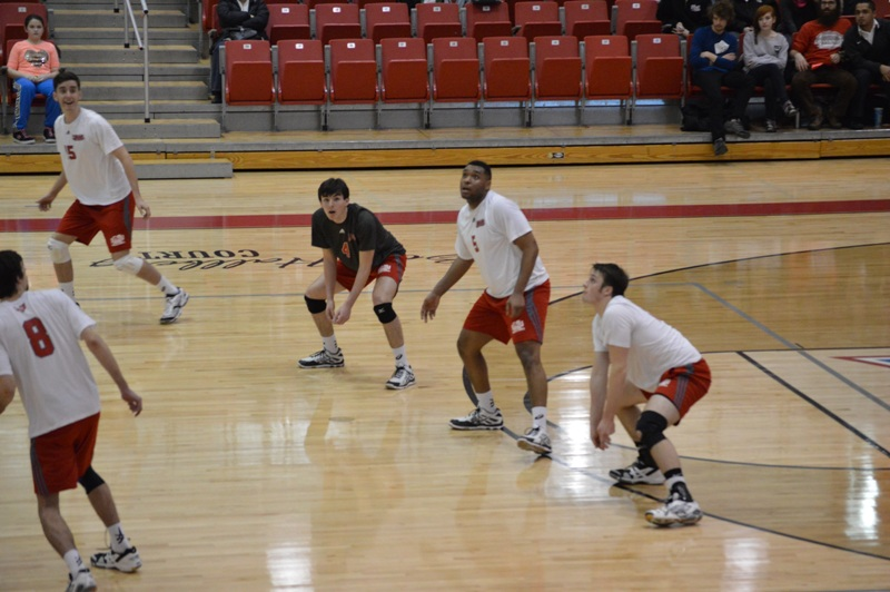 SXU Men's Volleyball vs Lourdes (Ohio) 3/8/14 - Photo 2