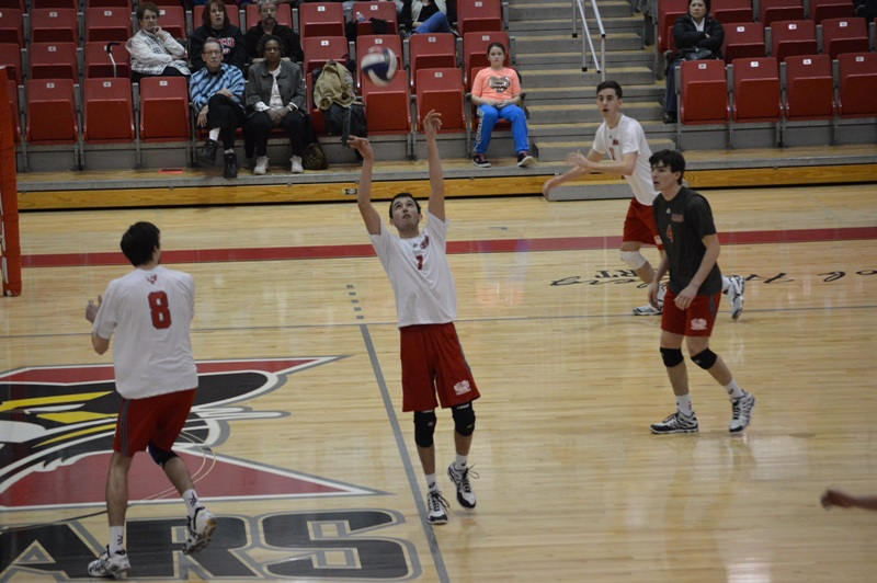 SXU Men's Volleyball vs Lourdes (Ohio) 3/8/14 - Photo 4