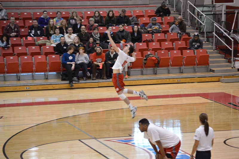 5th SXU Men's Volleyball vs Lourdes (Ohio) 3/8/14 Photo
