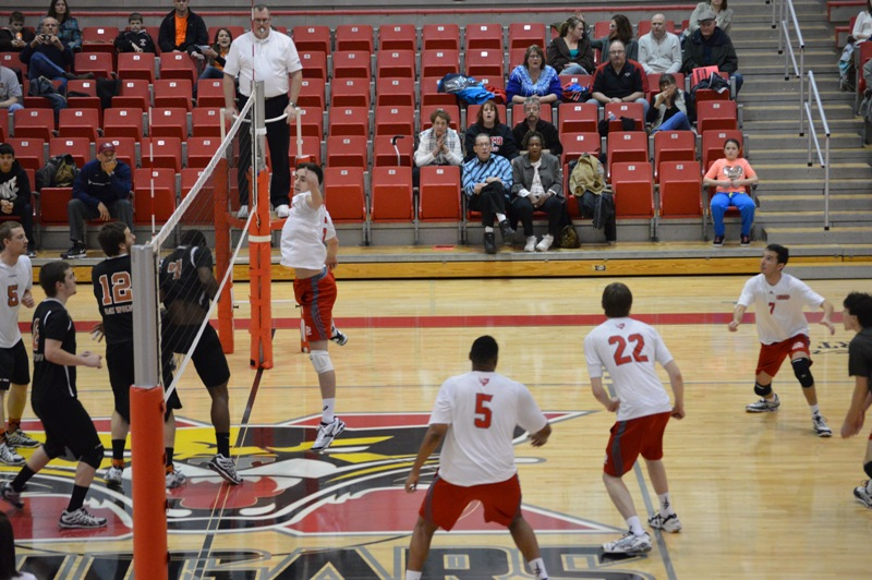 6th SXU Men's Volleyball vs Lourdes (Ohio) 3/8/14 Photo