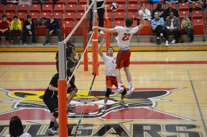 SXU Men's Volleyball vs Lourdes (Ohio) 3/8/14 - Photo 8
