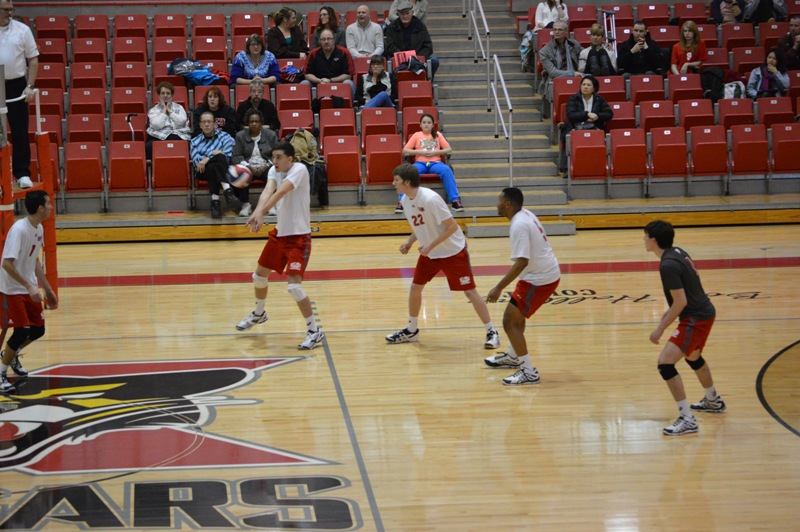9th SXU Men's Volleyball vs Lourdes (Ohio) 3/8/14 Photo