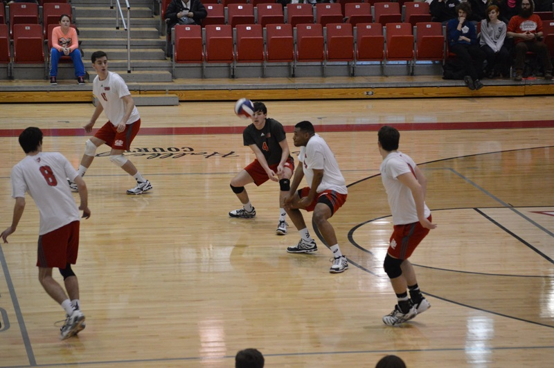 SXU Men's Volleyball vs Lourdes (Ohio) 3/8/14 - Photo 11