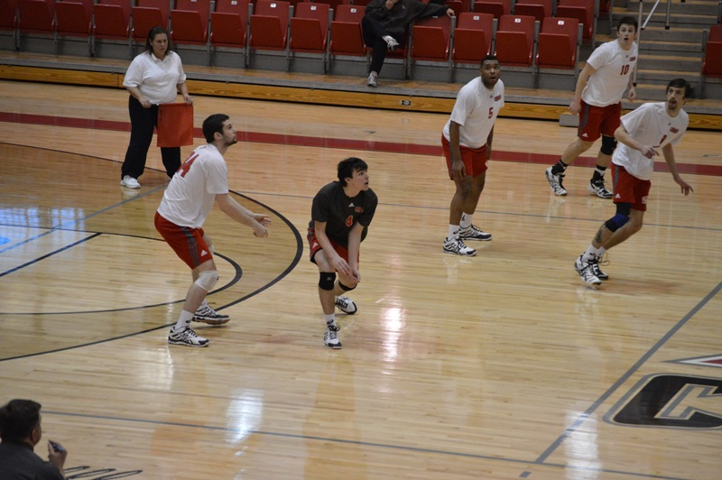 SXU Men's Volleyball vs Lourdes (Ohio) 3/8/14 - Photo 14