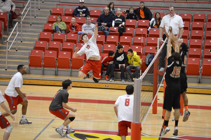 SXU Men's Volleyball vs Lourdes (Ohio) 3/8/14 - Photo 15