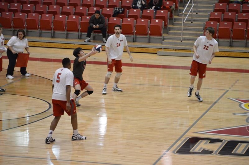 SXU Men's Volleyball vs Lourdes (Ohio) 3/8/14 - Photo 17
