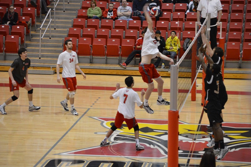 18th SXU Men's Volleyball vs Lourdes (Ohio) 3/8/14 Photo
