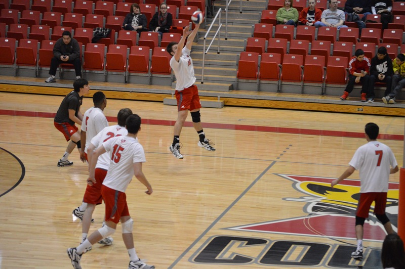 19th SXU Men's Volleyball vs Lourdes (Ohio) 3/8/14 Photo