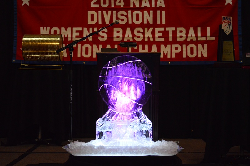 10th SXU Women's Basketball 2013-14 Banquet of Champions Photo