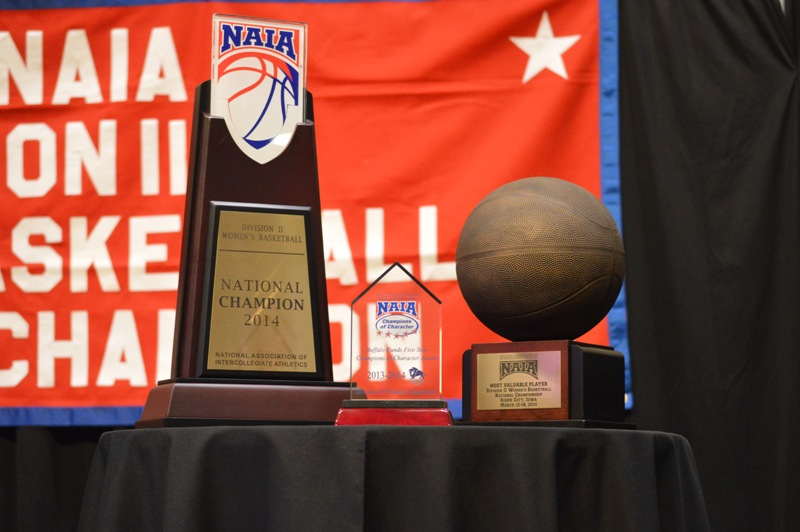 11th SXU Women's Basketball 2013-14 Banquet of Champions Photo