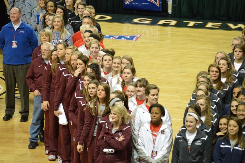 SXU Women's Basketball 2013-14 Parade of Champions - Photo 8