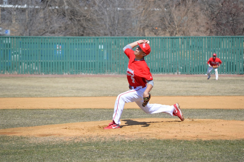 SXU Baseball vs St. Francis (Ill.) 4/1/14 - Photo 2