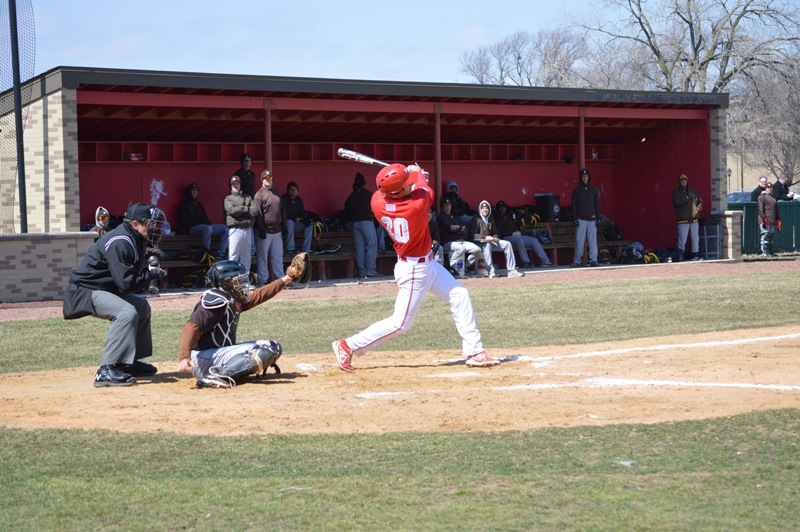 SXU Baseball vs St. Francis (Ill.) 4/1/14 - Photo 8