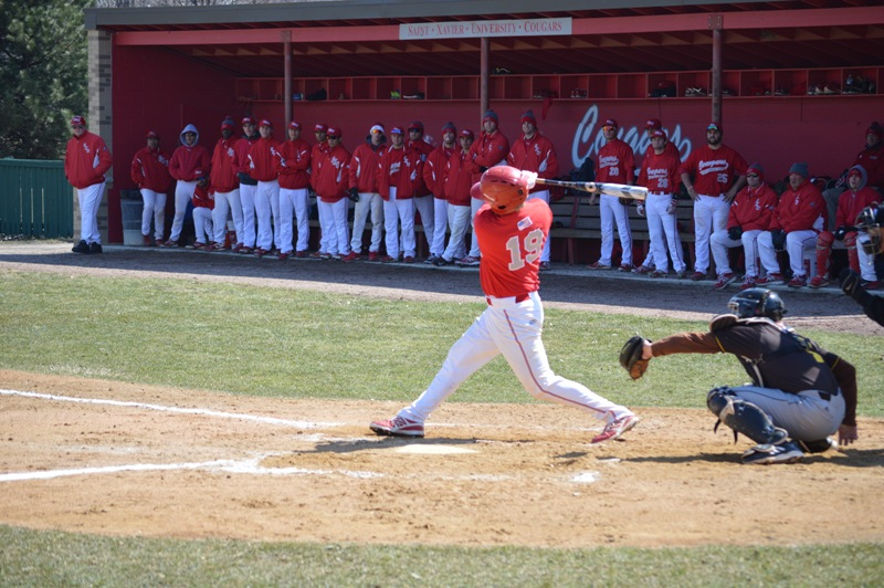 SXU Baseball vs St. Francis (Ill.) 4/1/14 - Photo 14