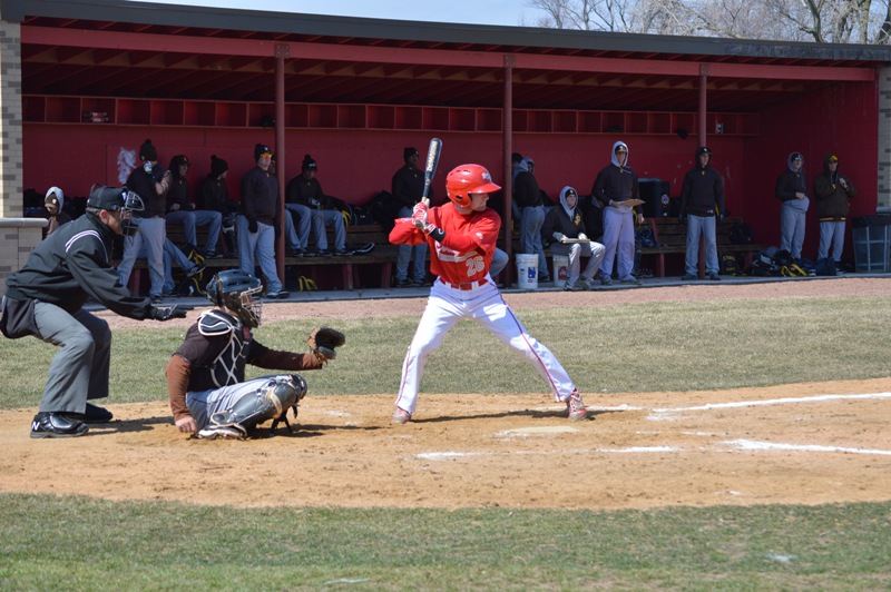 SXU Baseball vs St. Francis (Ill.) 4/1/14 - Photo 16