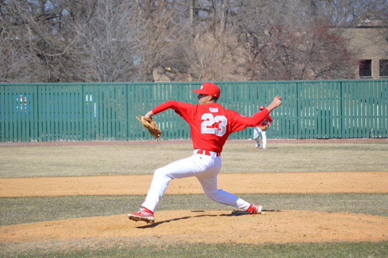 SXU Baseball vs St. Francis (Ill.) 4/1/14 - Photo 19