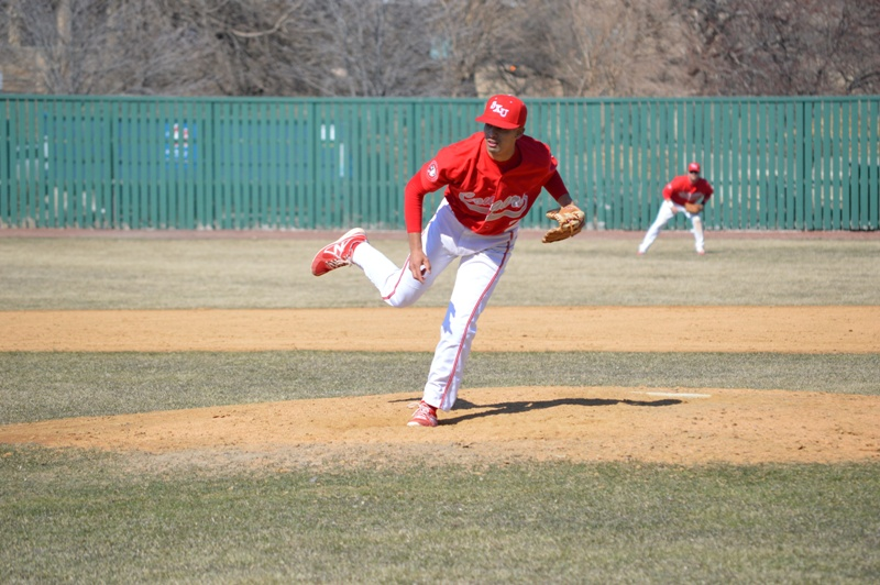 SXU Baseball vs St. Francis (Ill.) 4/1/14 - Photo 21